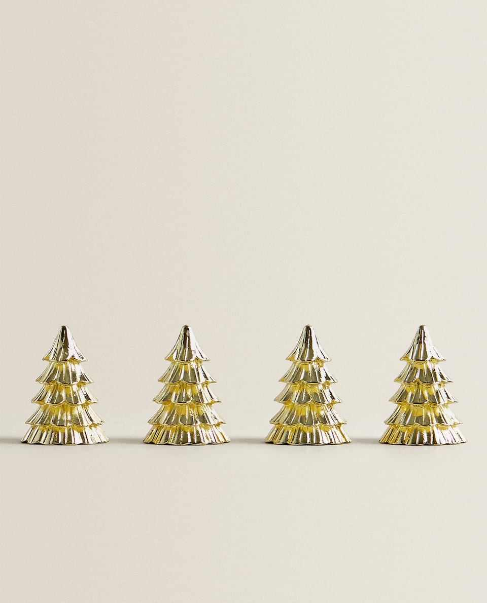 CHRISTMAS TREE PLACE SETTING (PACK OF 4)