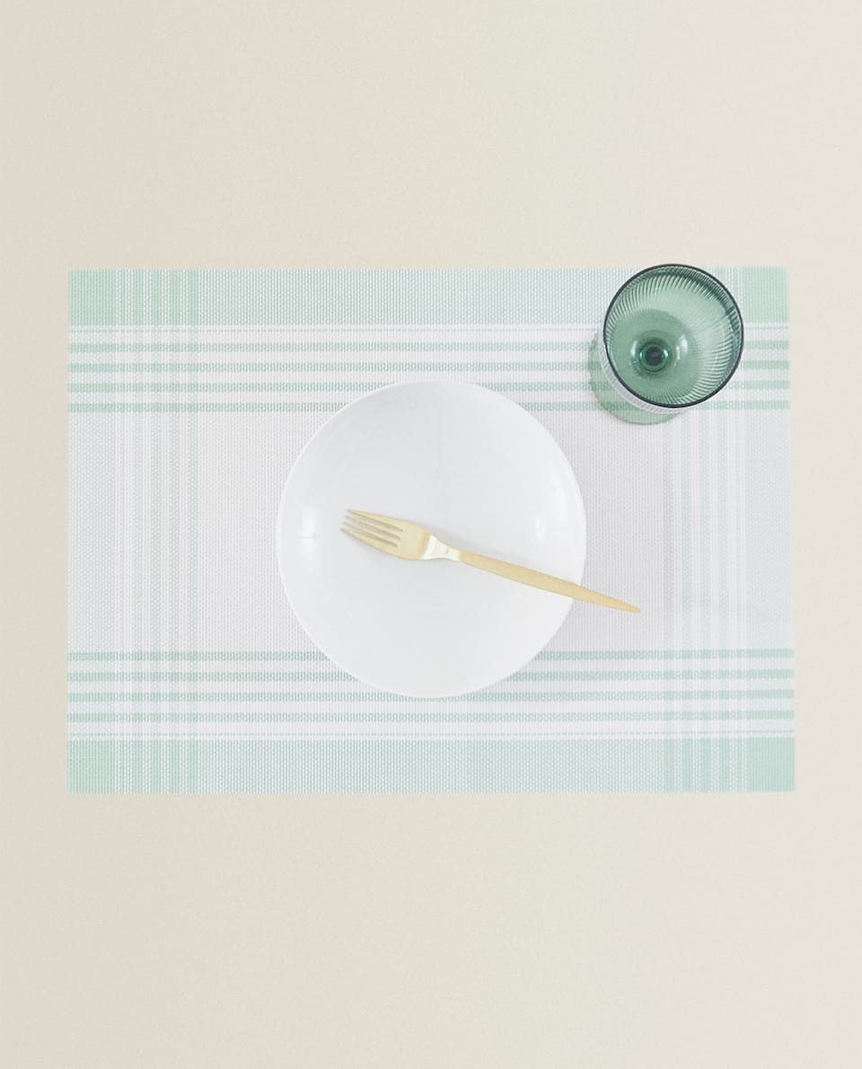 RECTANGULAR PLACEMAT WITH BORDER (PACK OF 2)