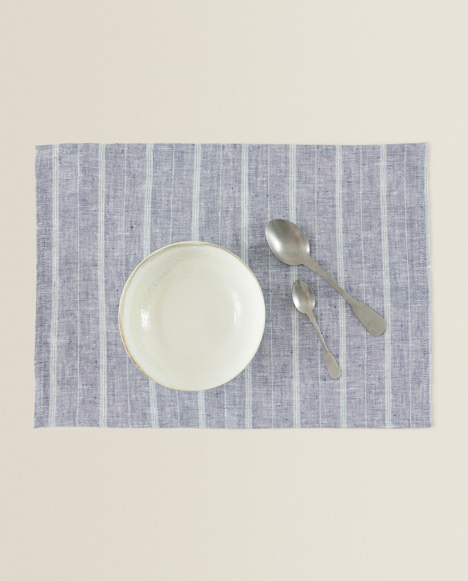 LINEN DENIM RECTANGULAR PLACEMAT