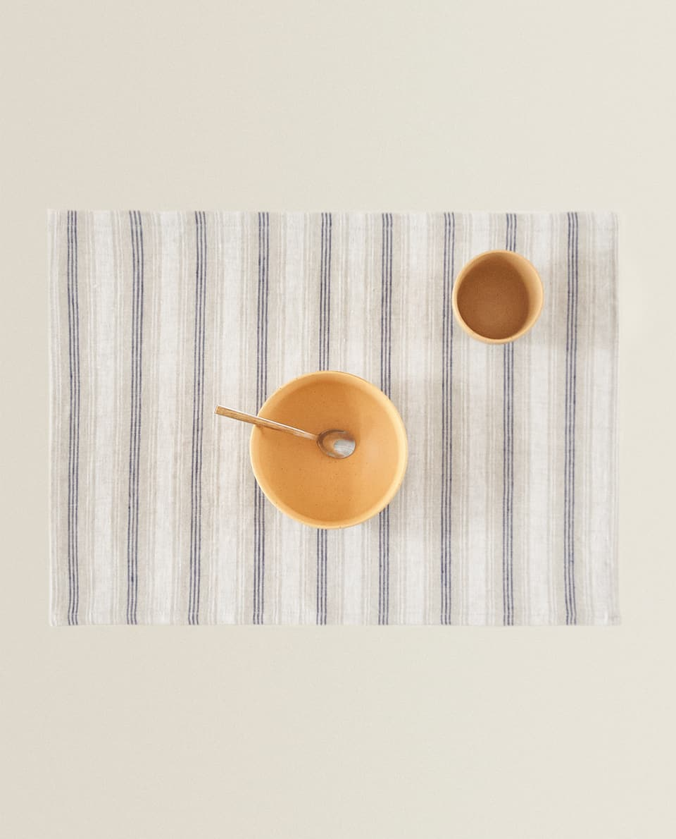 STRIPED LINEN PLACEMAT
