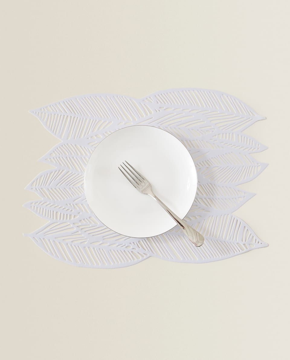 RESIN LEAF PLACEMAT