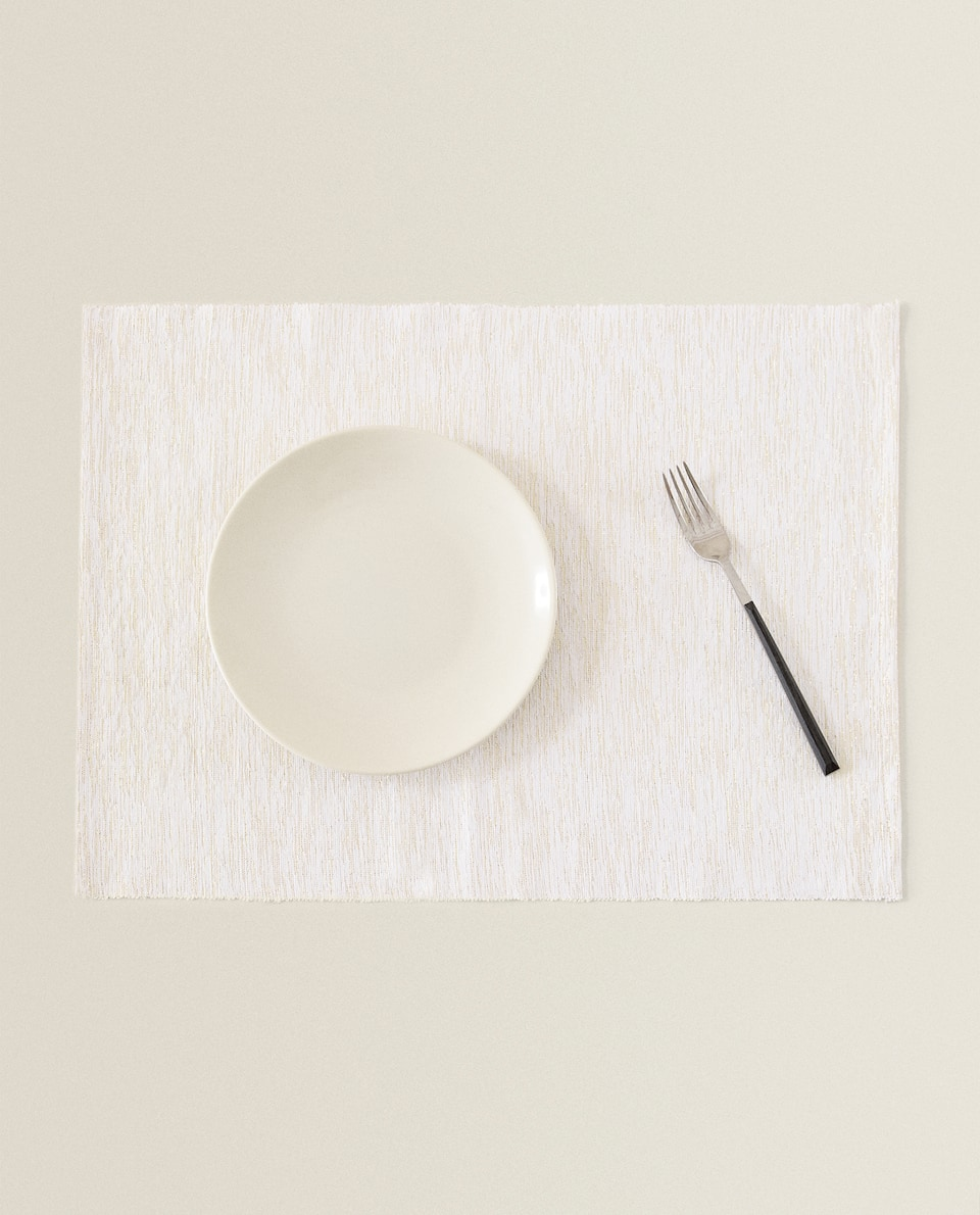 GOLDEN FIBRE COTTON PLACEMAT (PACK OF 2)