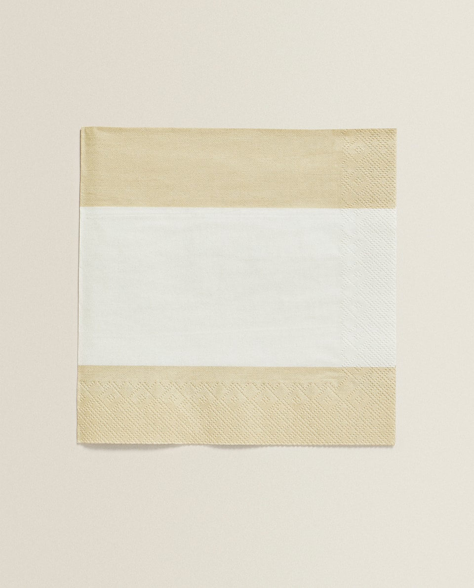 STRIPED NAPKINS (PACK OF 20)