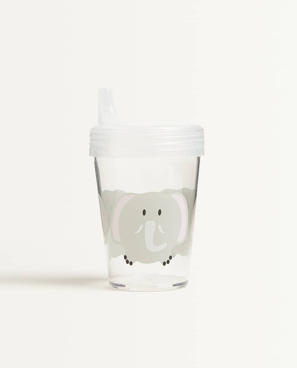 ELEPHANT CUP WITH LID