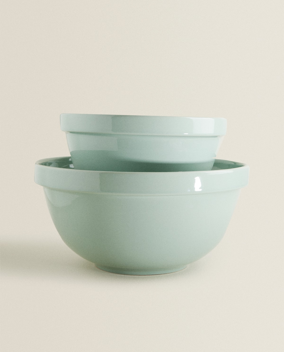 Green Stoneware Bowl  View All   New In by Zara Home