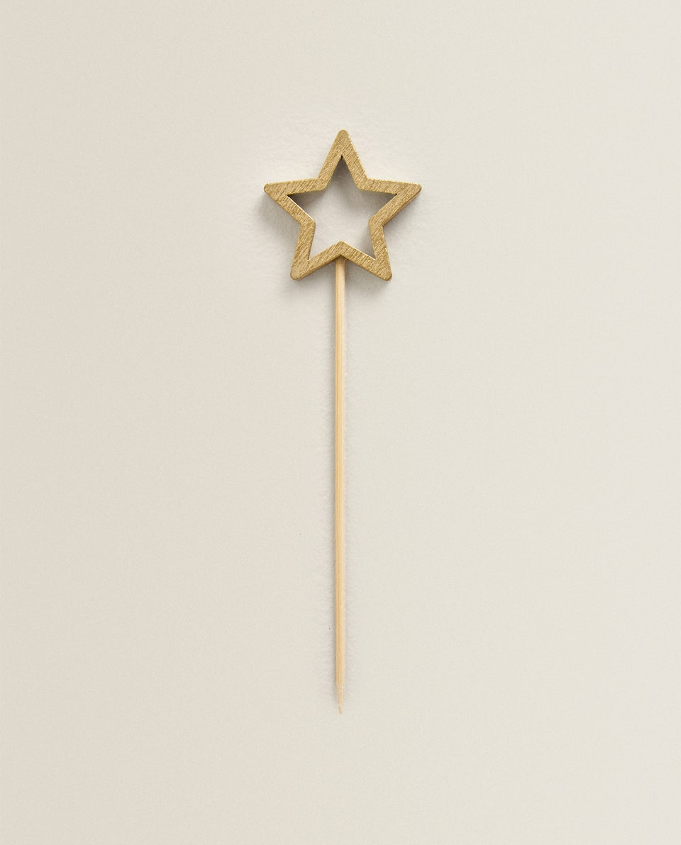 STAR COCTAIL STICKS (PACK OF 10)