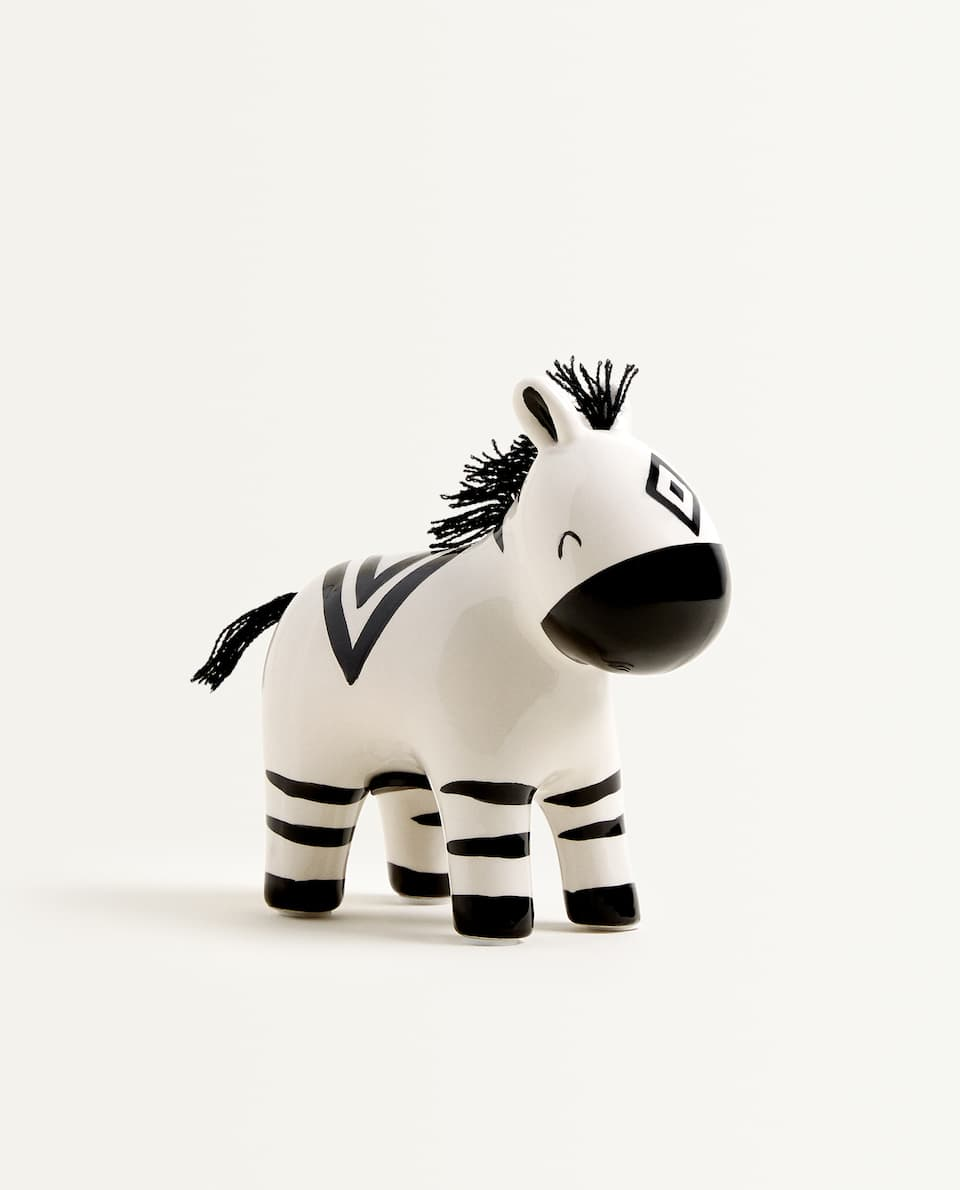 ZEBRA PIGGY BANK