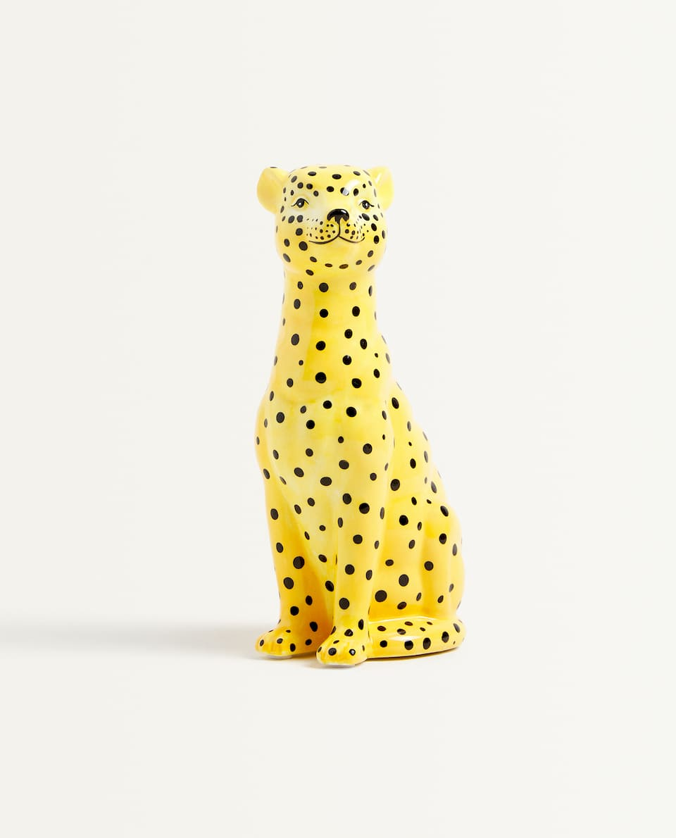 CHEETAH PIGGY BANK