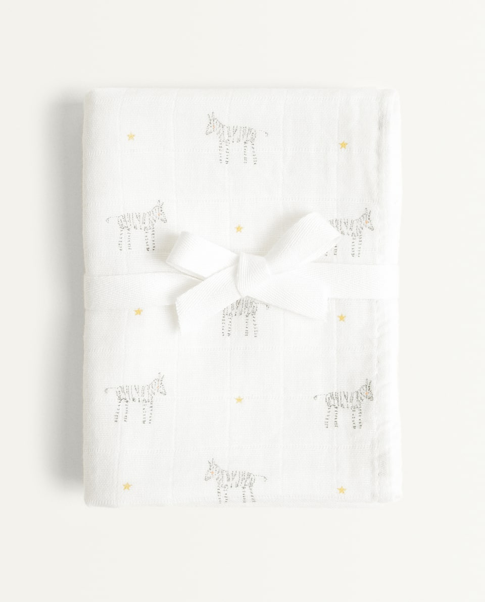 PRINTED MUSLIN (PACK OF 2)
