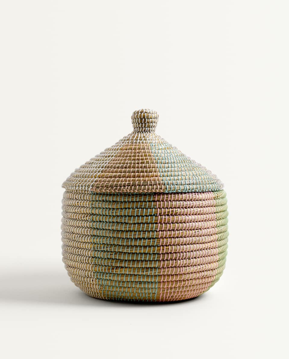 MULTICOLOURED BASKET