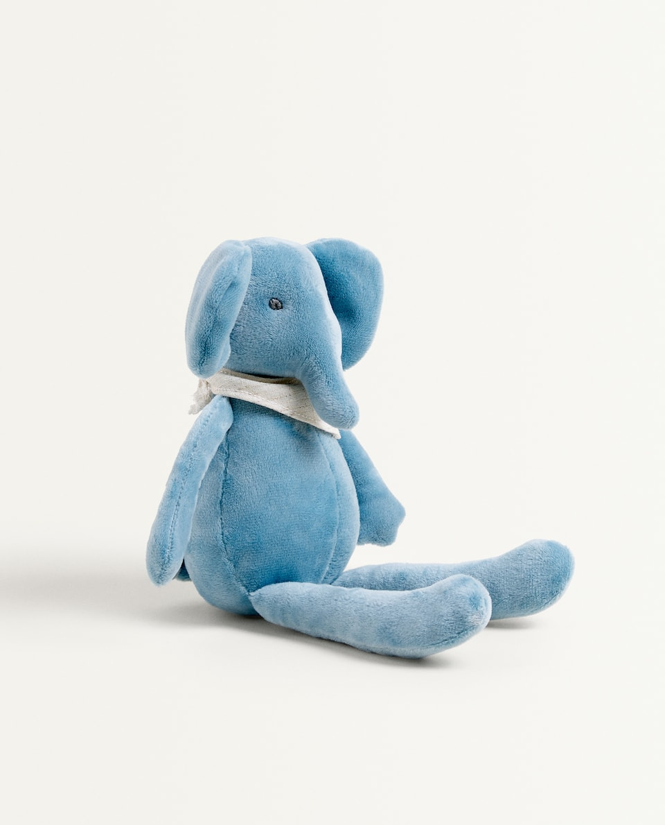 BLUE ELEPHANT SOFT TOY