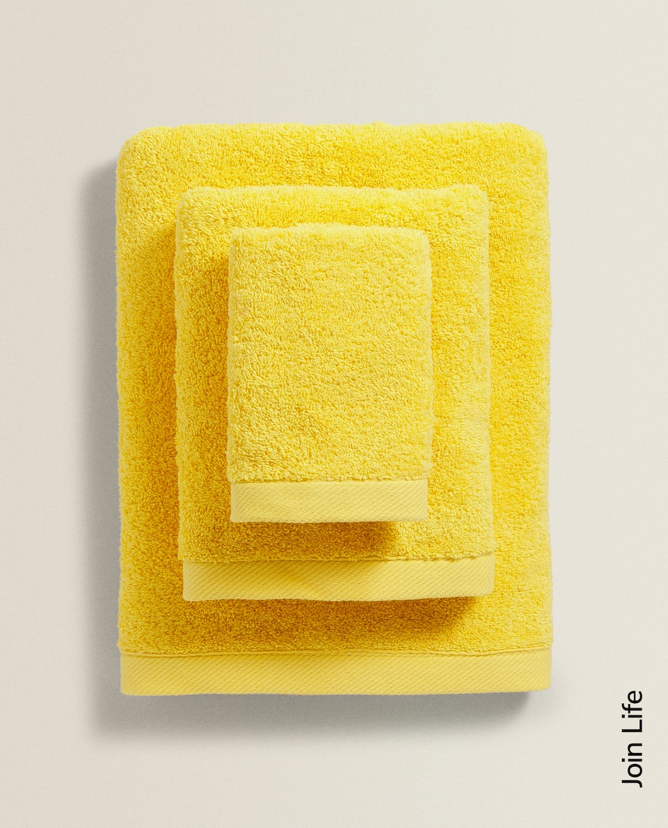ECOLOGICALLY GROWN COTTON TOWEL