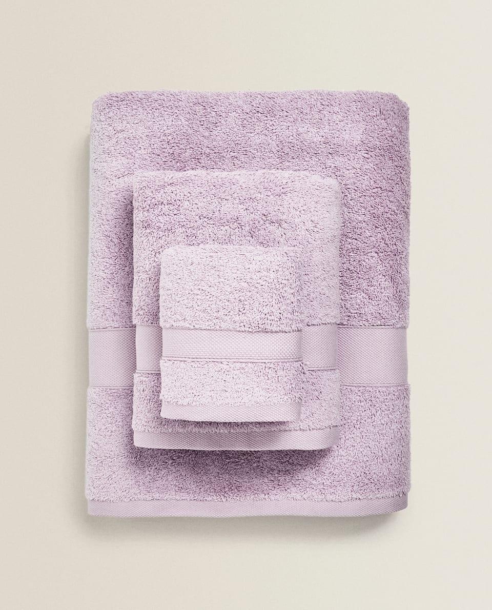 منشفة من القطن ذي جودة ممتازة