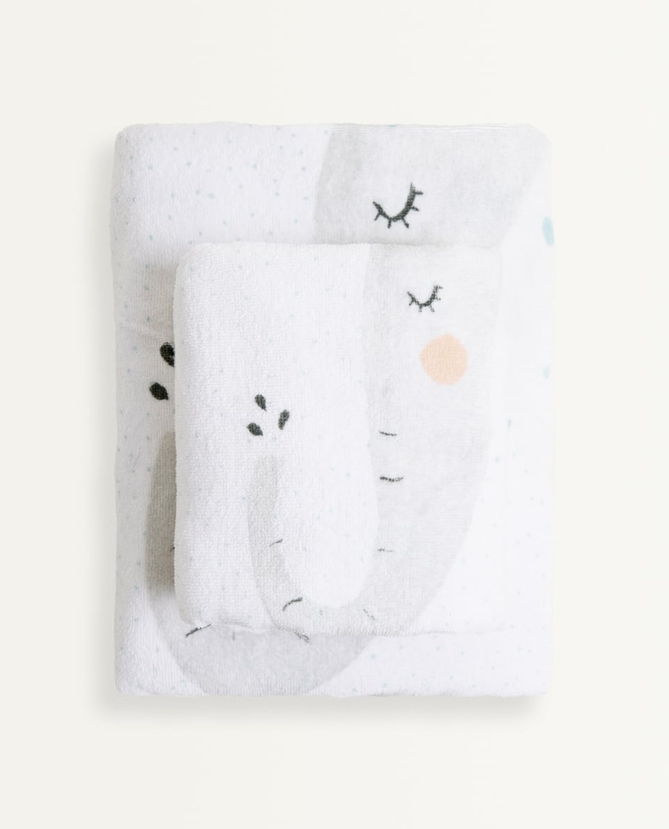 COTTON ELEPHANT TOWEL