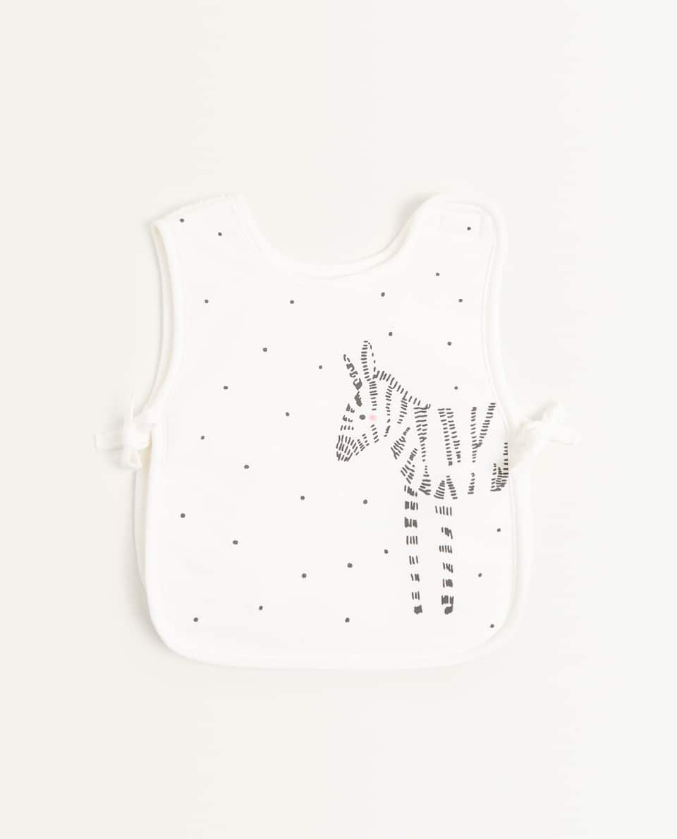 ZEBRA COVER-ALL BIB