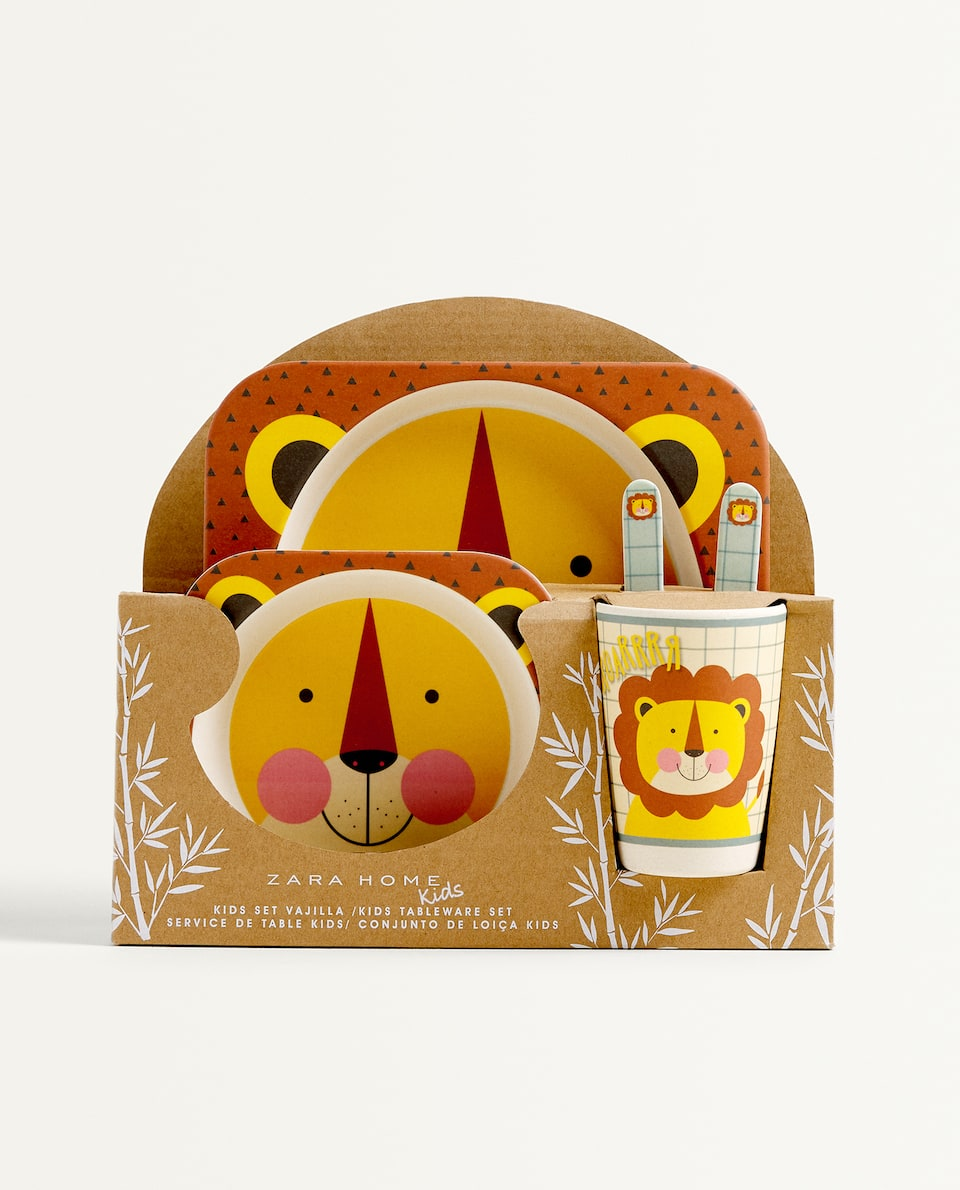 LION TABLEWARE SET