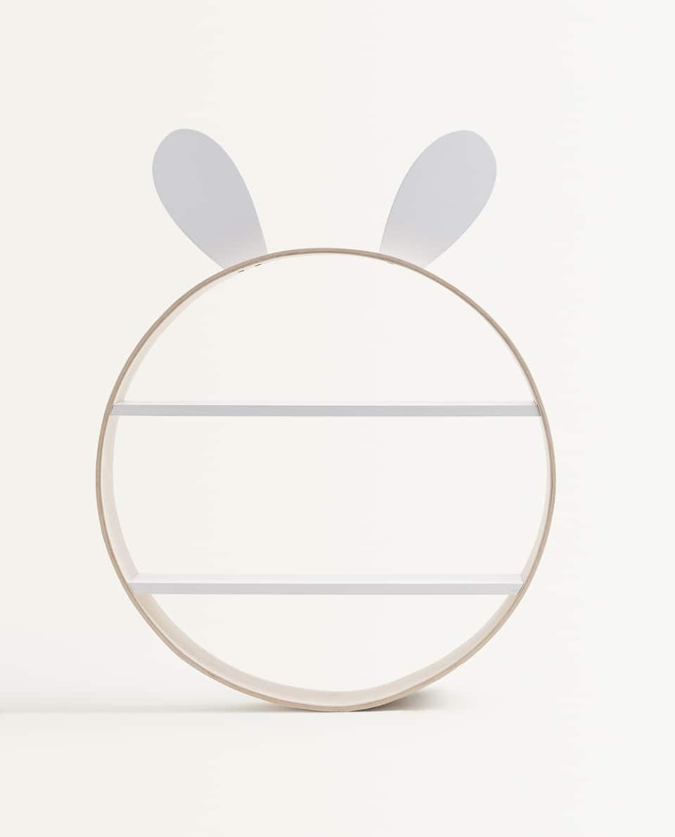 KIDS RABBIT BOOKCASE