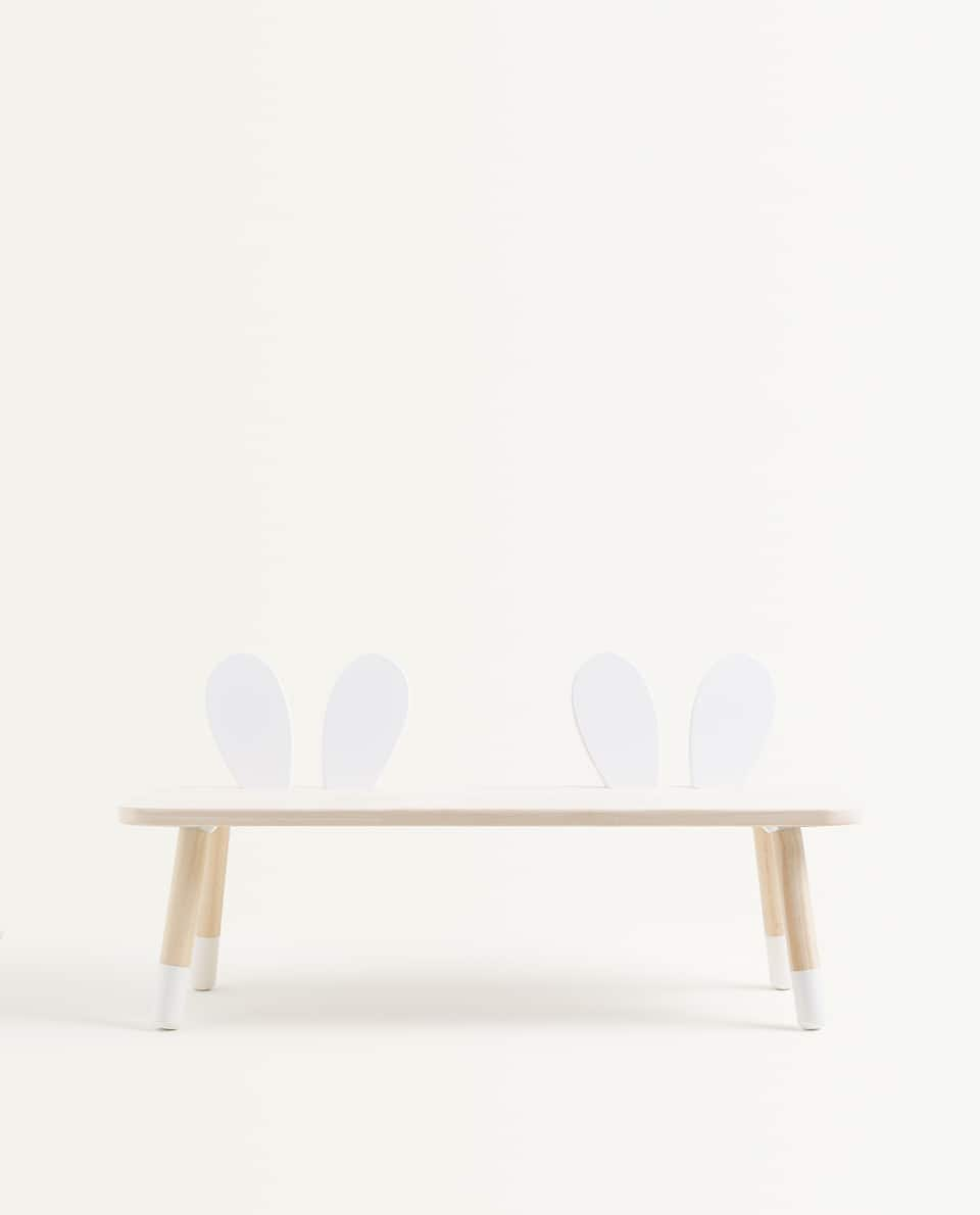 KIDS RABBIT EARS BENCH
