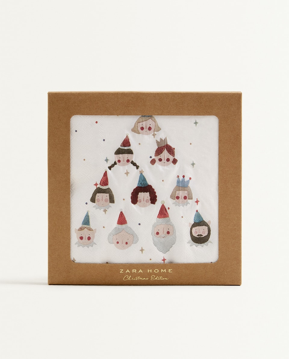 CHRISTMAS PAPER NAPKINS (PACK OF 20)