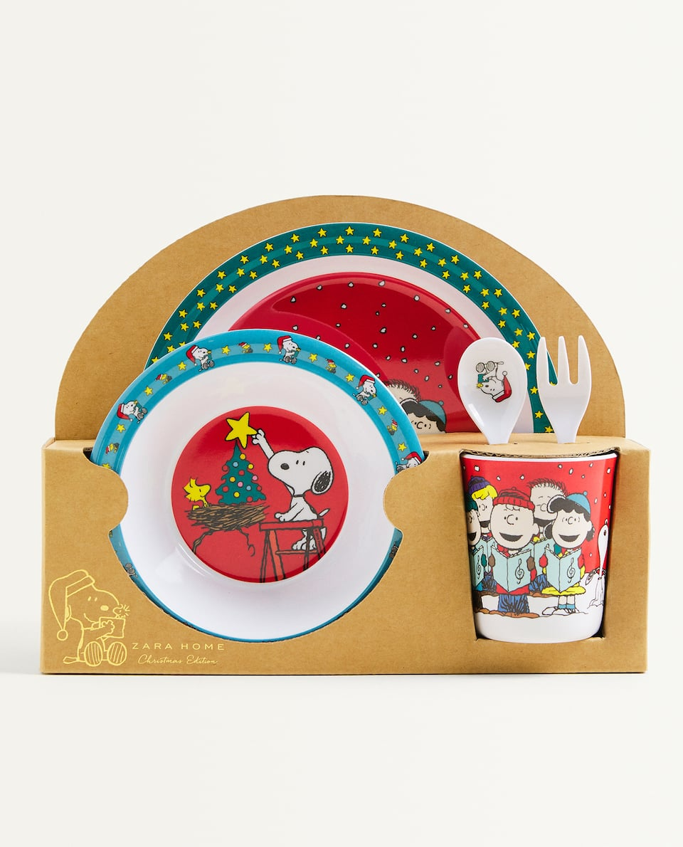 SNOOPY TABLEWARE SET