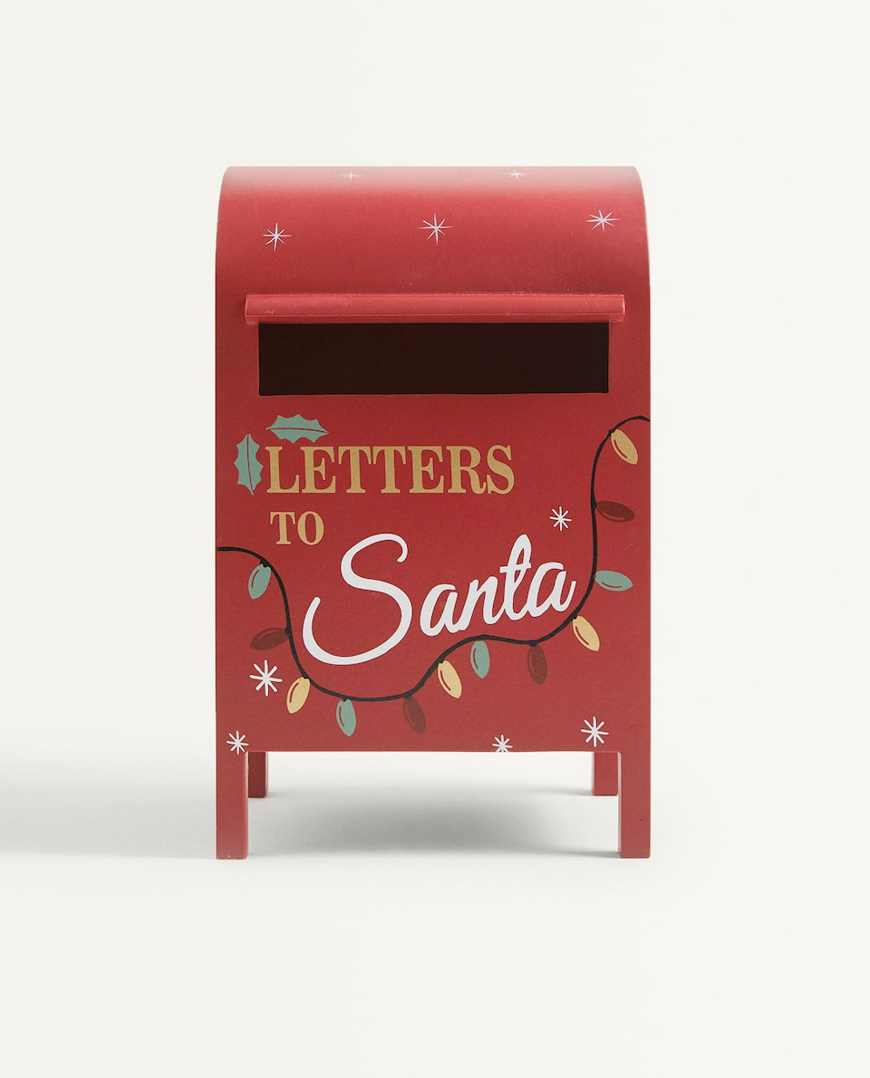 KIDS CHRISTMAS LETTER BOX