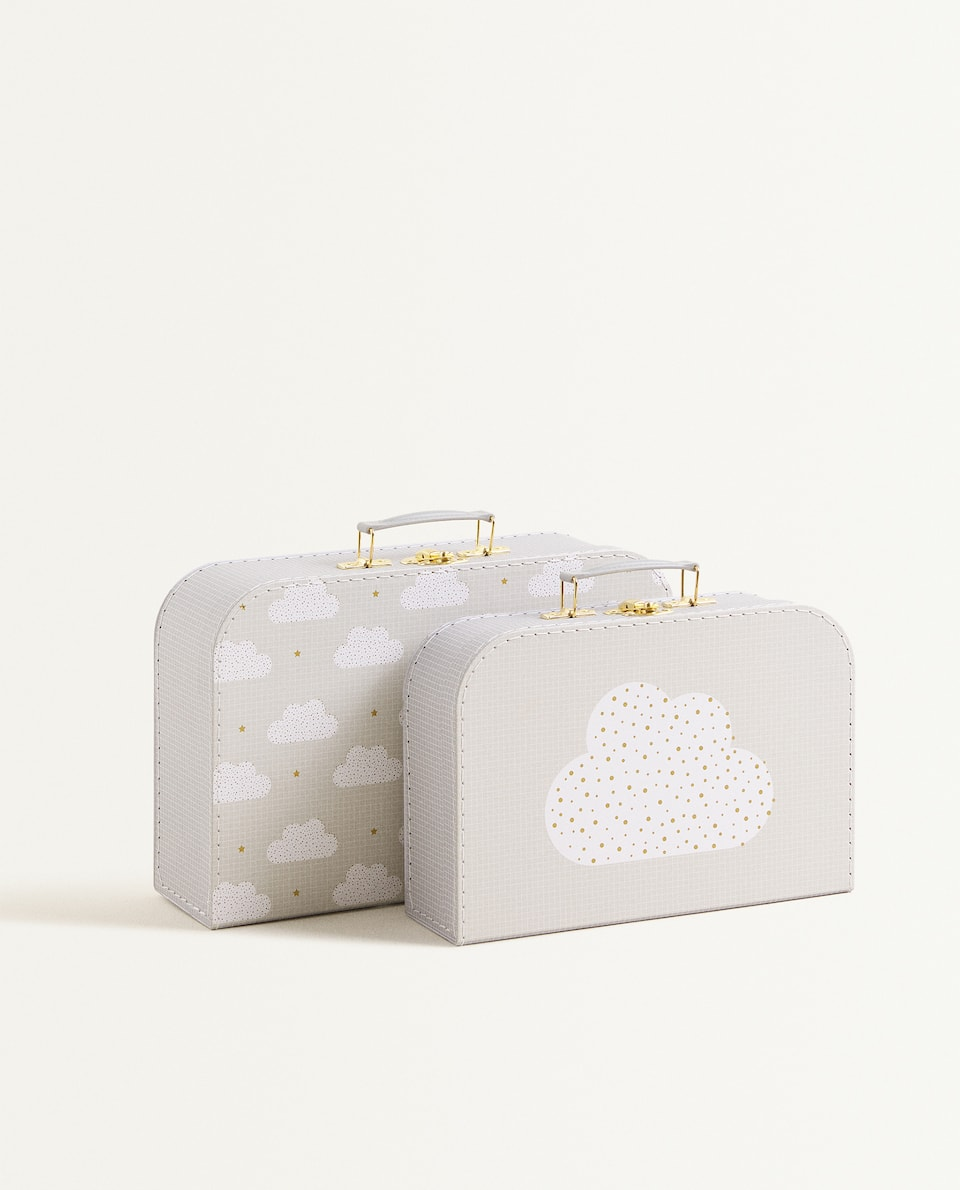 CLOUD PRINT BRIEFCASE