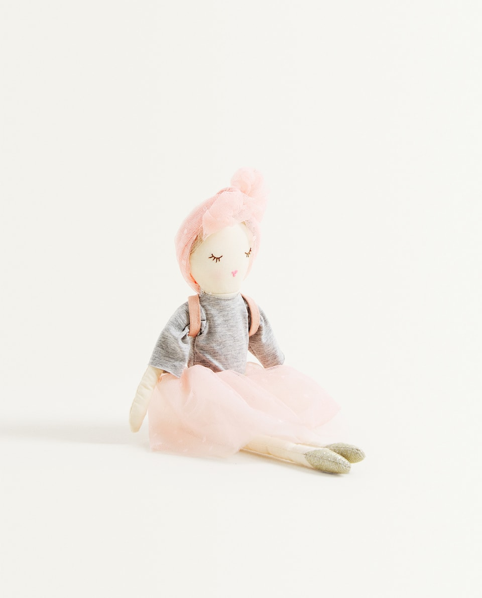 DOLL SOFT TOY WITH RUCKSACK