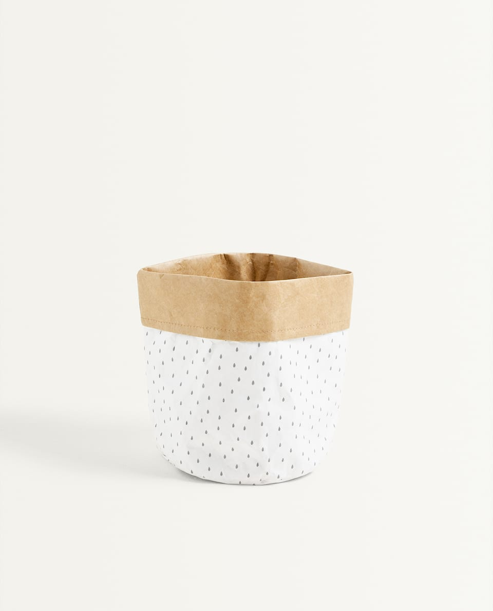 WAX PAPER BASKET