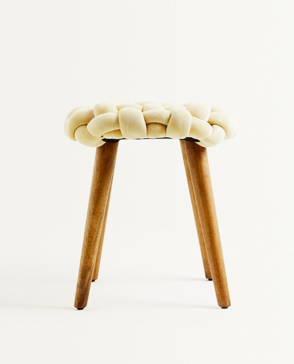 PLAITED STOOL
