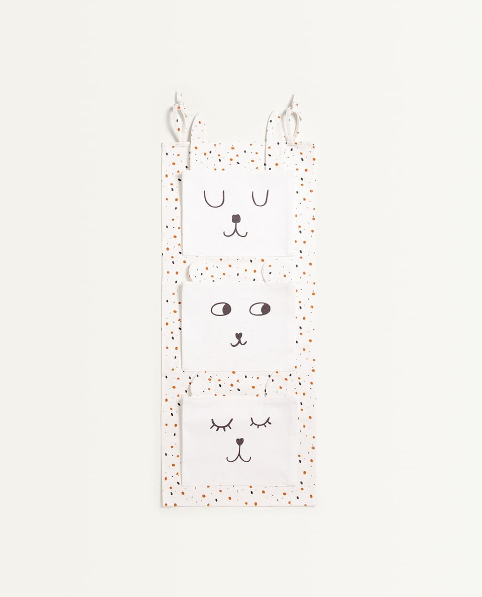 POCKET ORGANISER WITH FACES