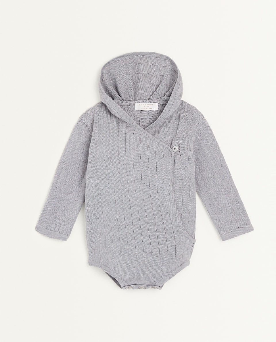 HOODED ROMPER SUIT