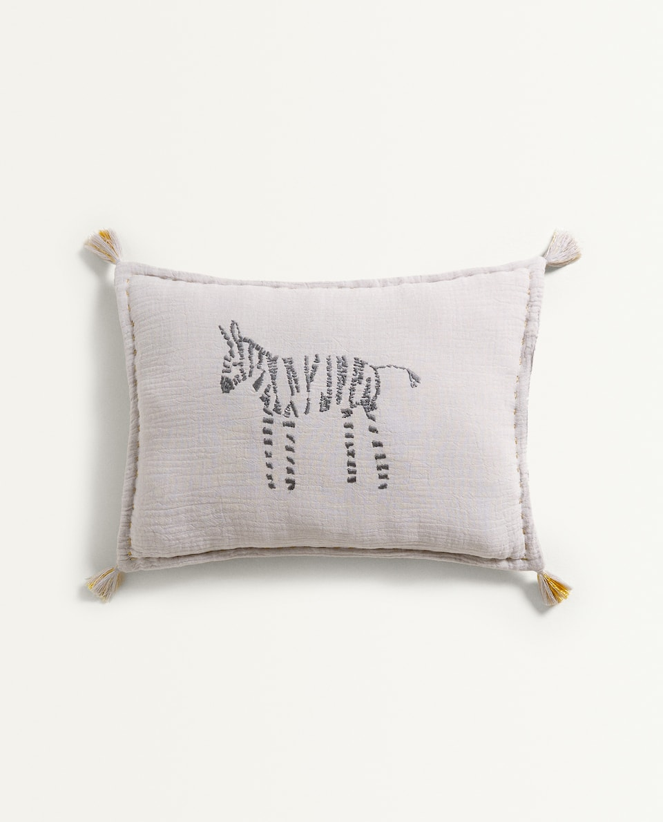 COTTON MUSLIN CUSHION