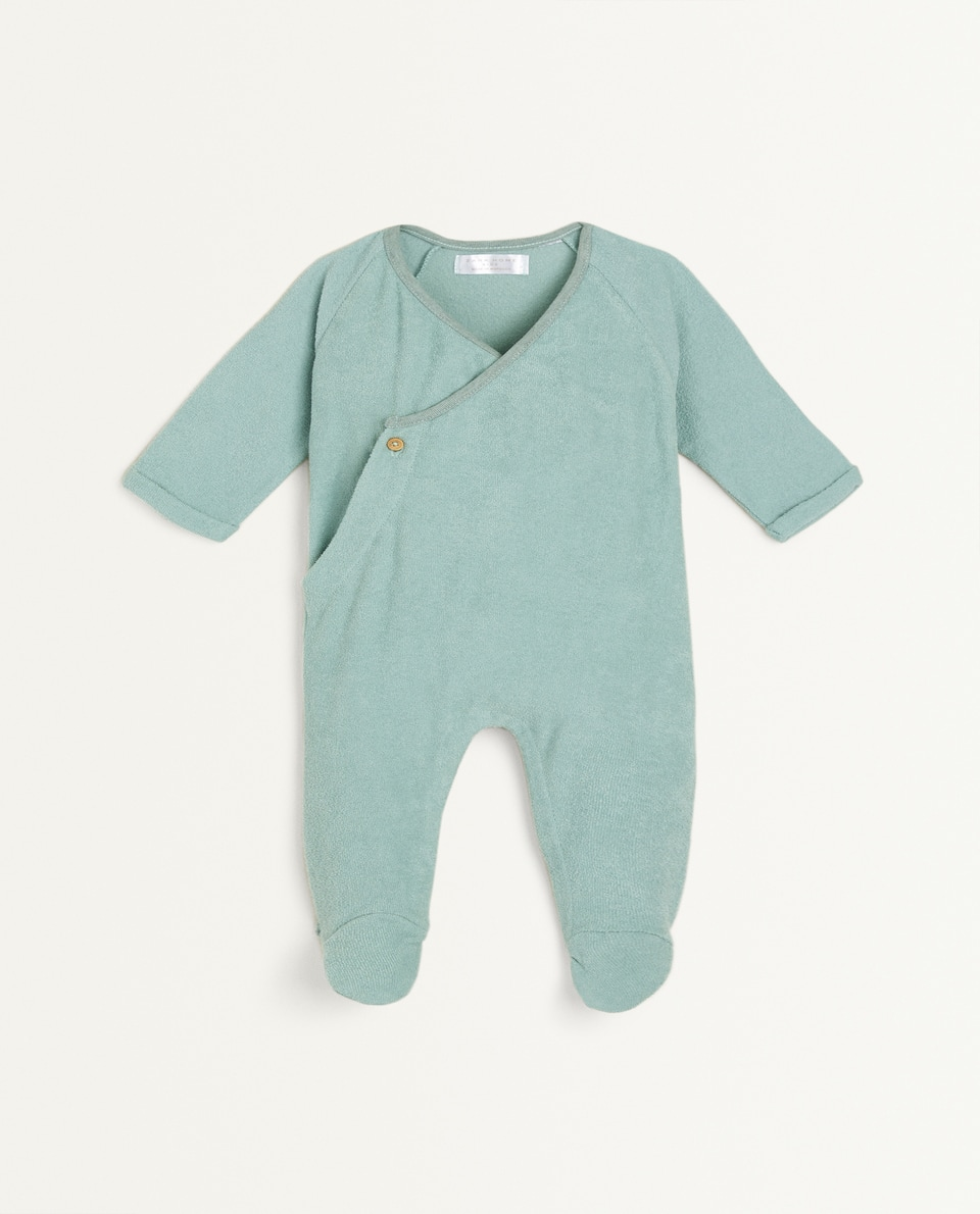 COTTON TERRYCLOTH ROMPER SUIT
