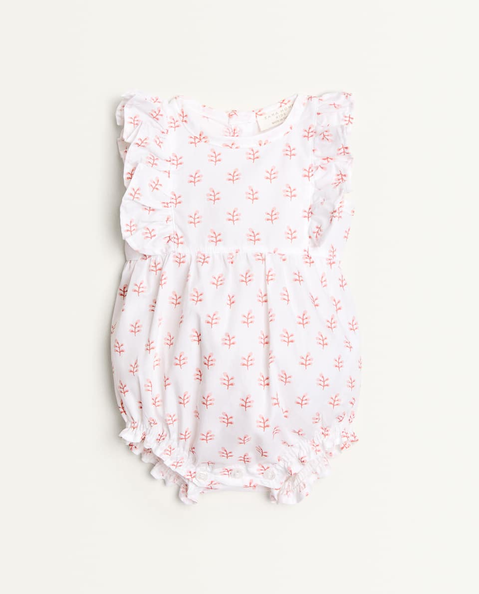 PRINTED ROMPER SUIT