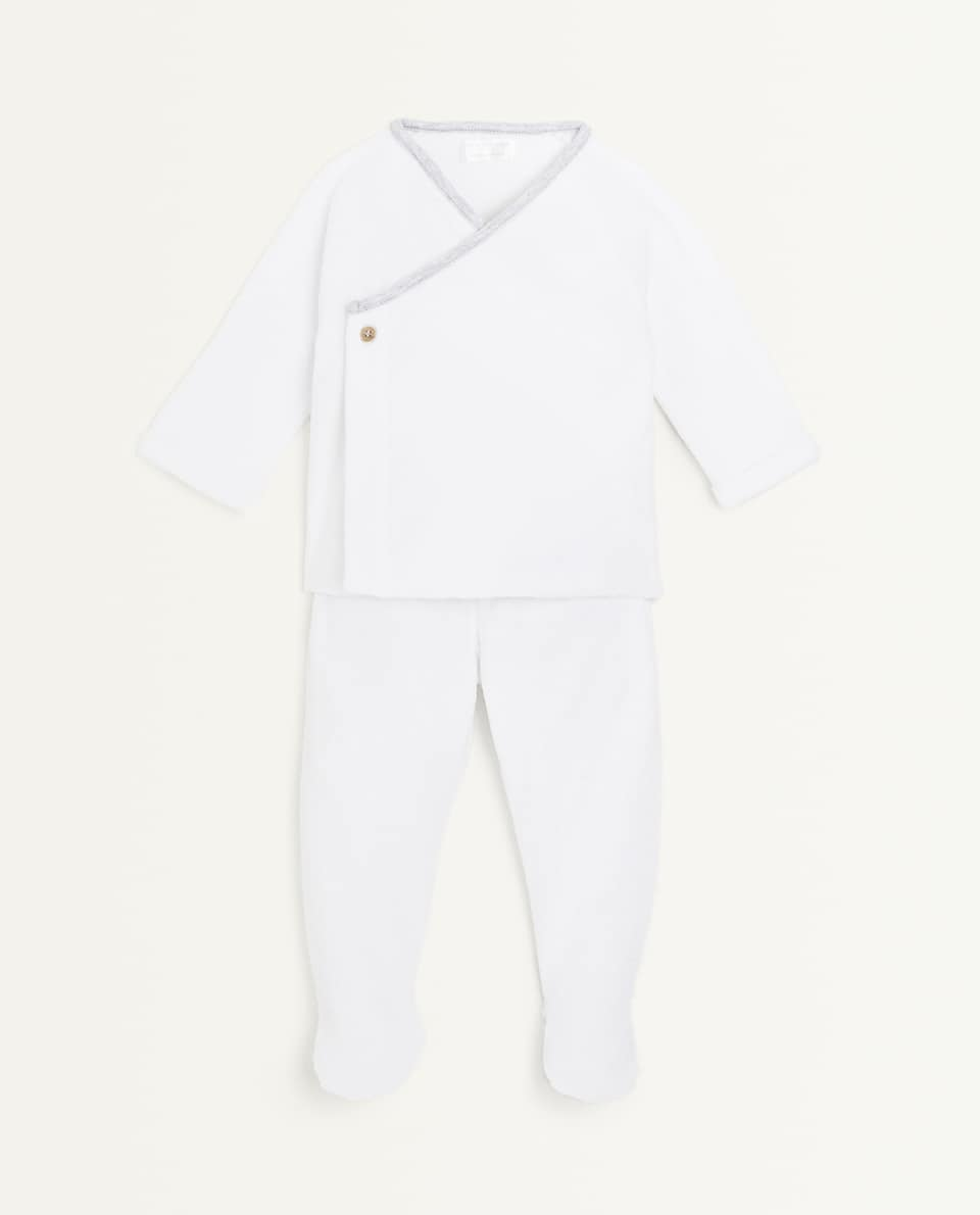 COTTON TERRYCLOTH SET