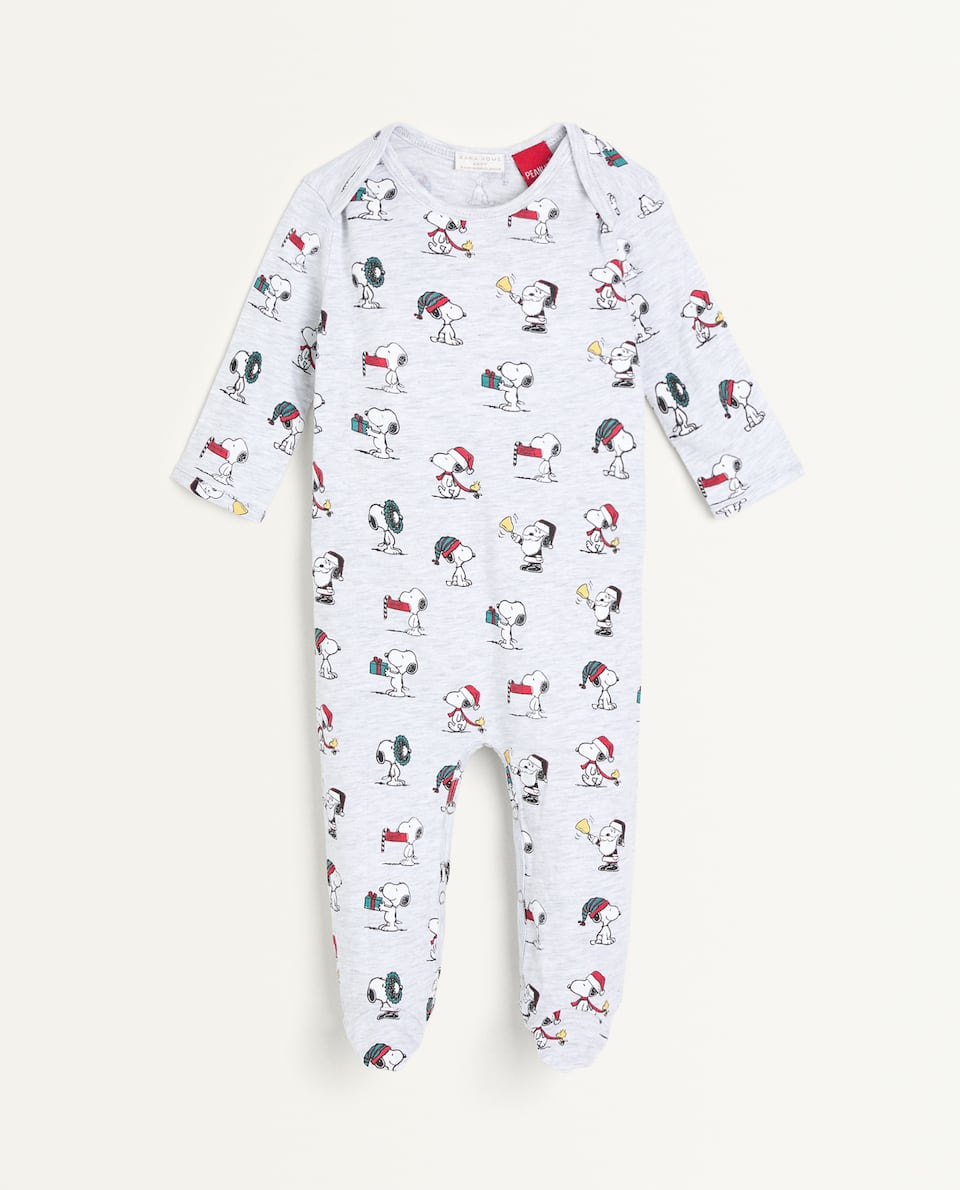 KIDS SNOOPY ROMPER SUIT