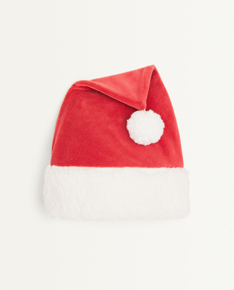 KIDS FATHER CHRISTMAS HAT
