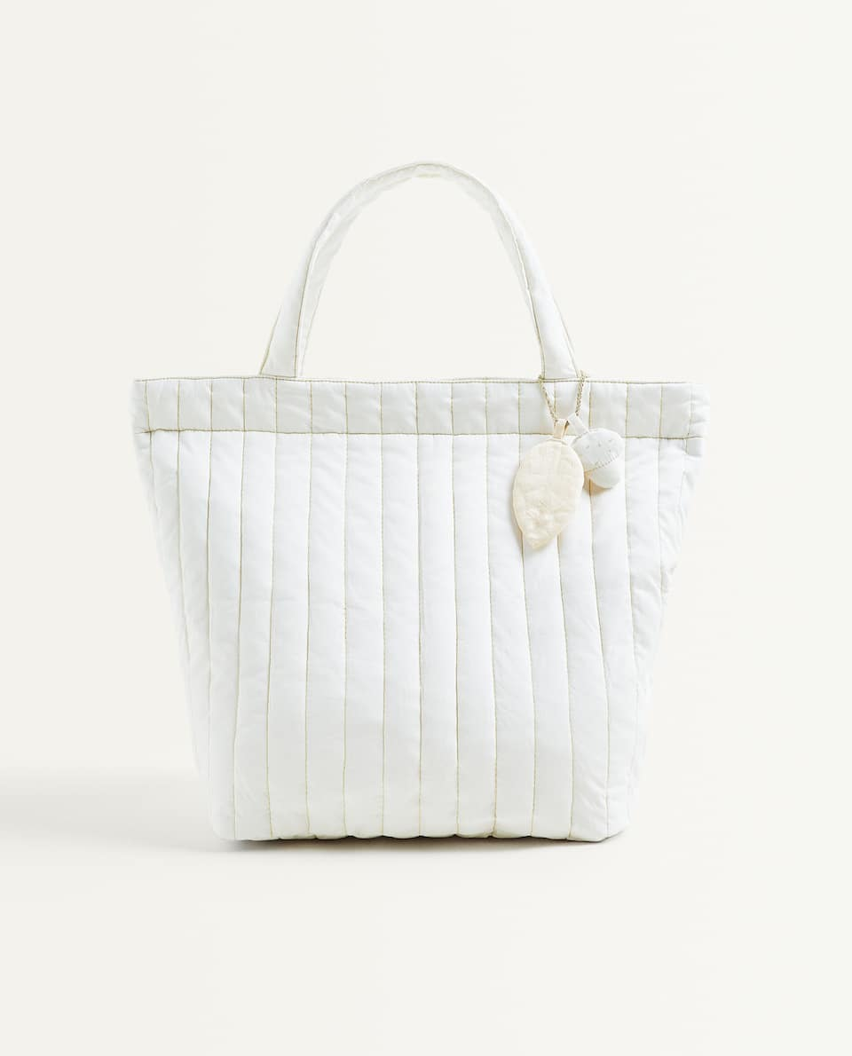 QUILTED MATERNITY BAG