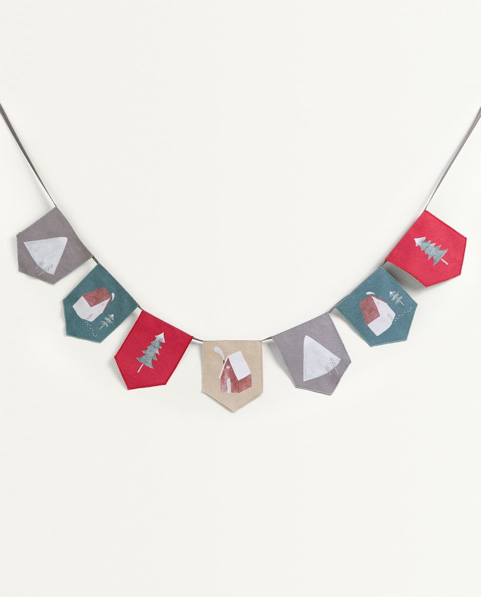 KIDS' MULTICOLOURED BUNTING