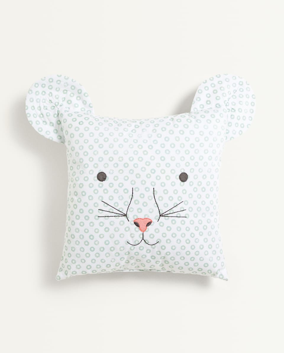CAT FACE CUSHION