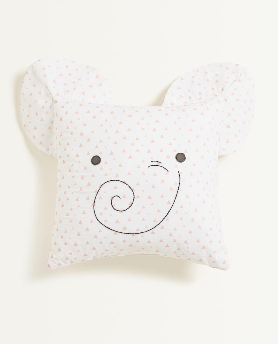 ELEPHANT FACE CUSHION