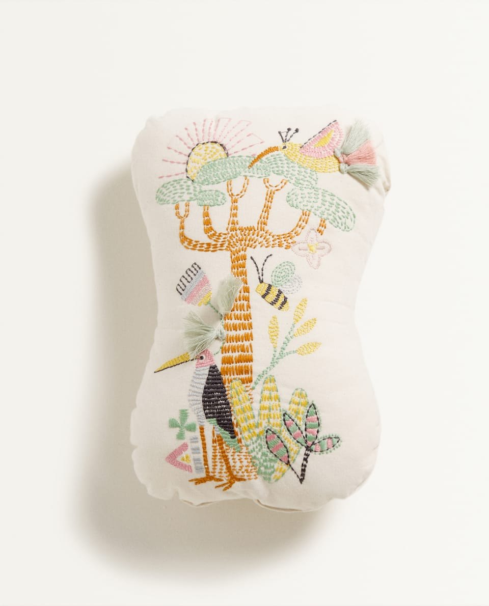 TREE PRINT CUSHION