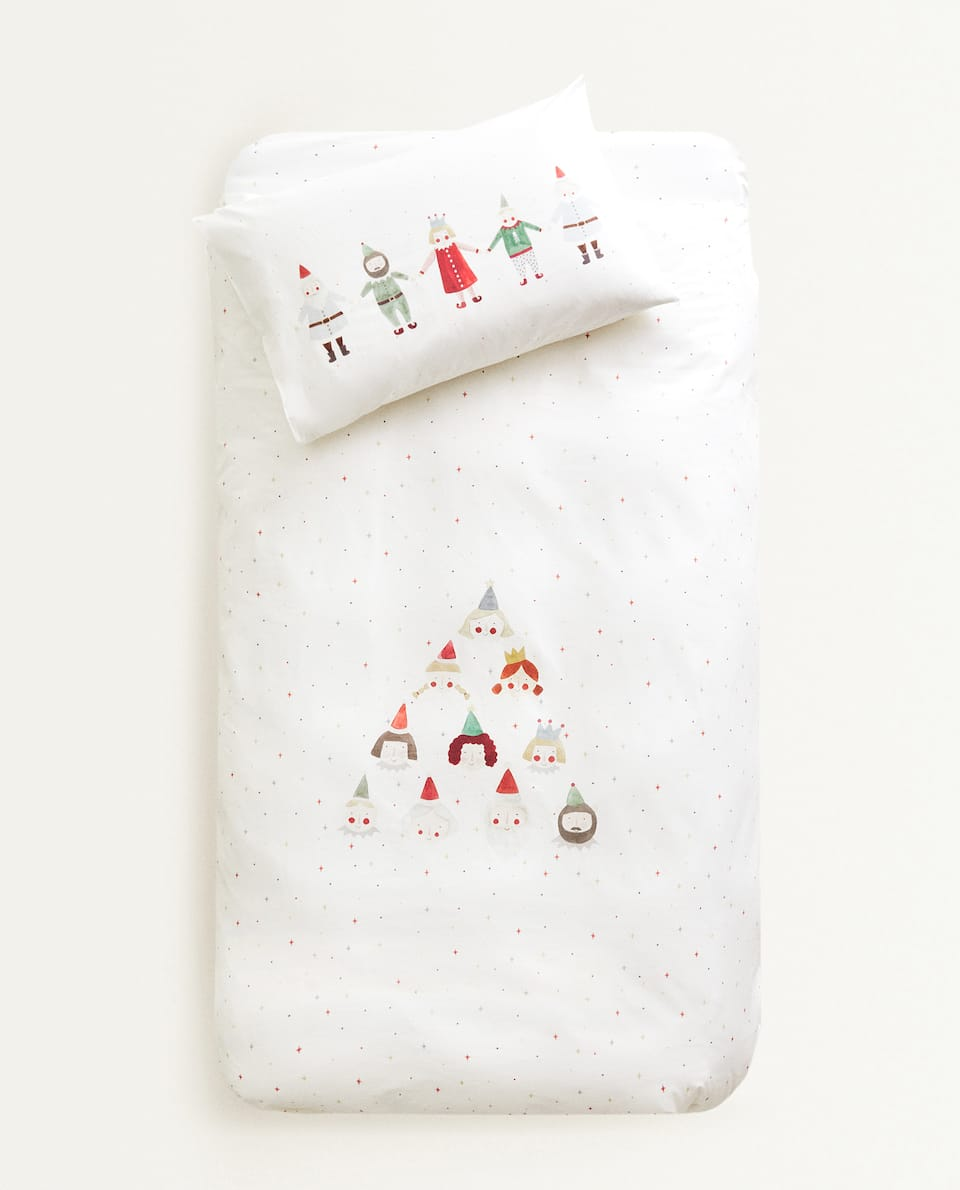 CHRISTMAS PICTURE DUVET COVER