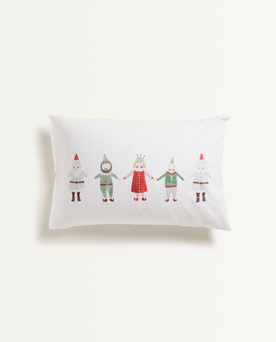 CHRISTMAS PICTURE PILLOWCASE