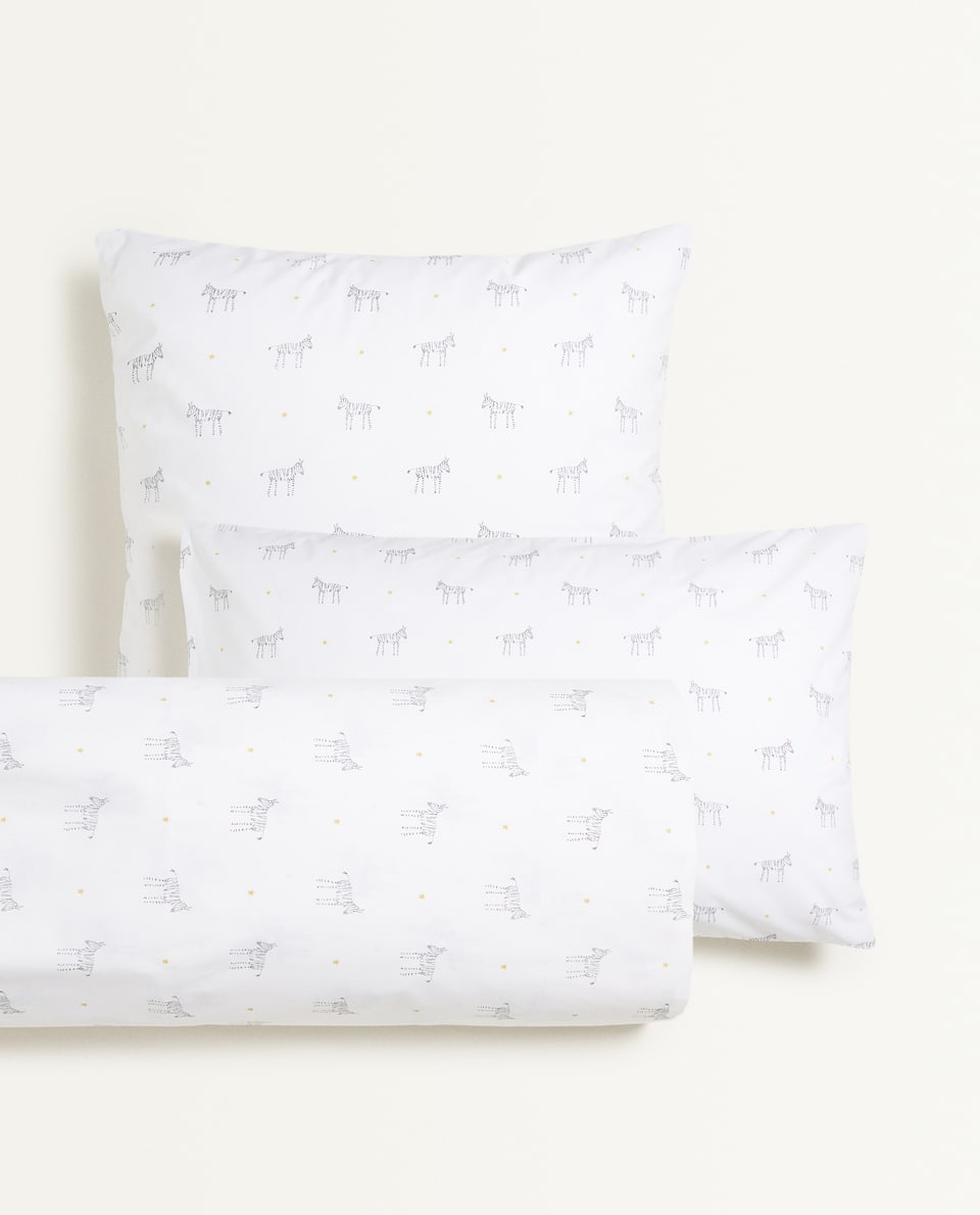 ZEBRA PILLOWCASE