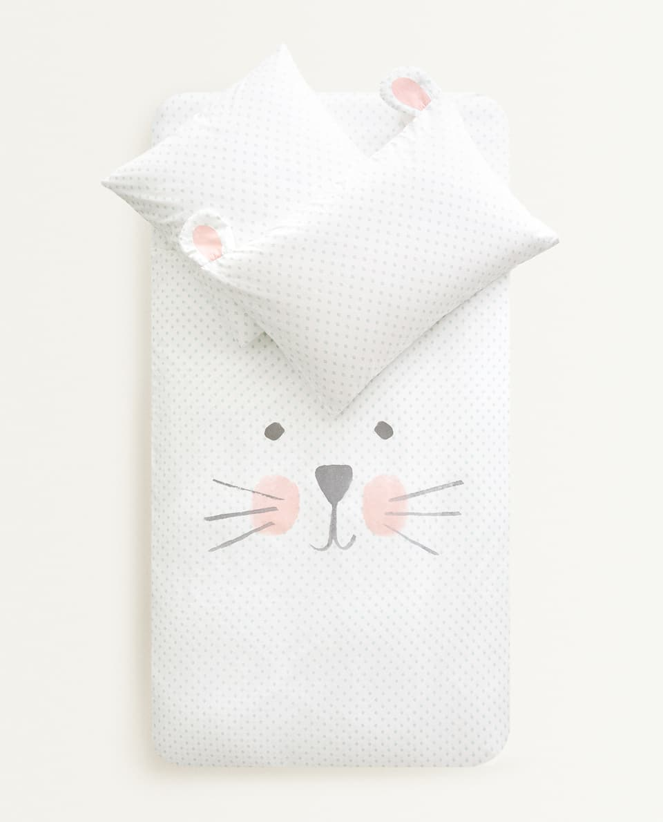 BUNNY RABBIT DUVET COVER