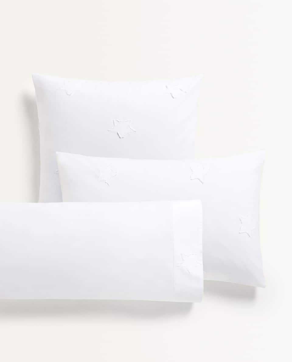 JACQUARD STAR PILLOWCASE