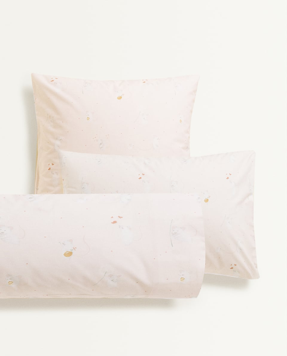 LITTLE MICE PILLOWCASE