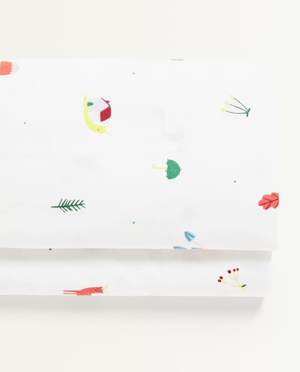 FOREST ANIMALS FLAT SHEET