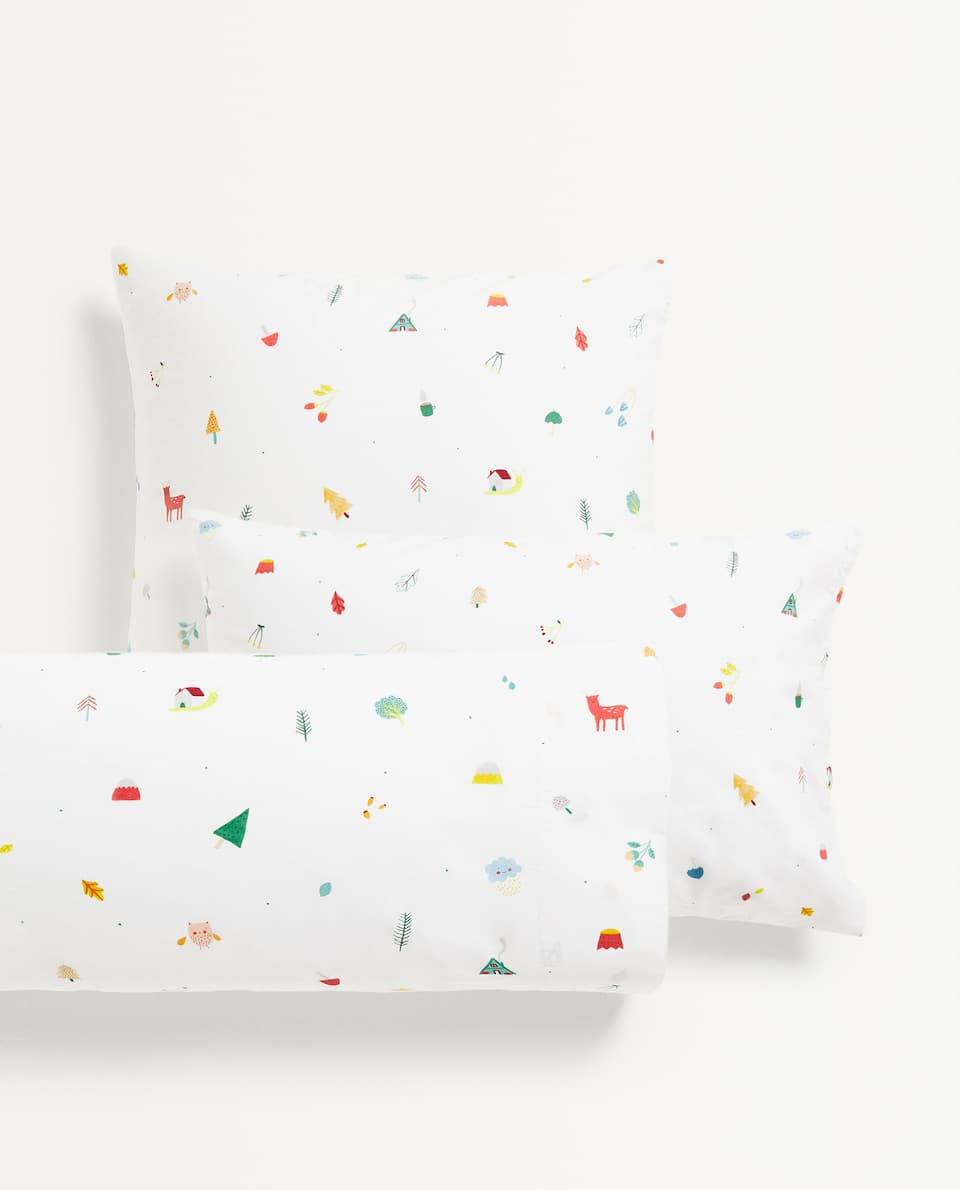 FOREST ANIMALS PILLOWCASE